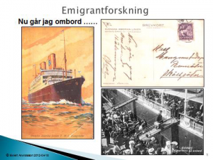 Emigrantforskning - kursstart